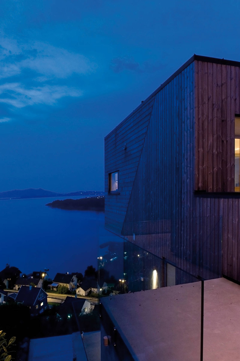 Evening View, Northface House, Norway by Element Arkitekter AS