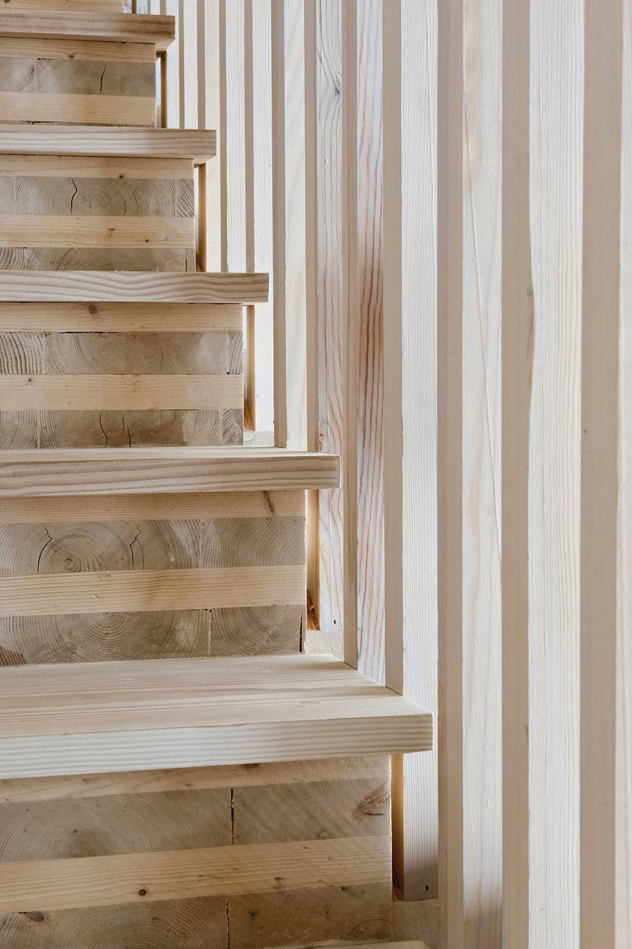 Staircase Detail, Northface House, Norway by Element Arkitekter AS