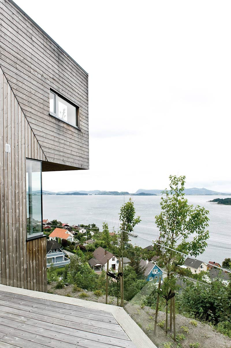 Terrace View, Northface House, Norway by Element Arkitekter AS