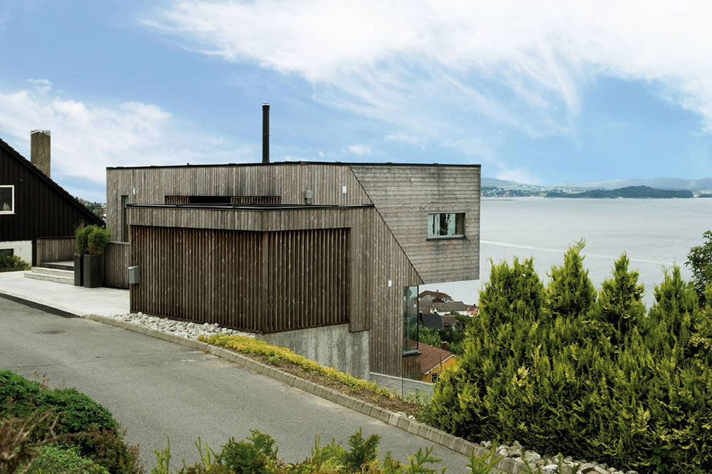 View, Northface House, Norway by Element Arkitekter AS