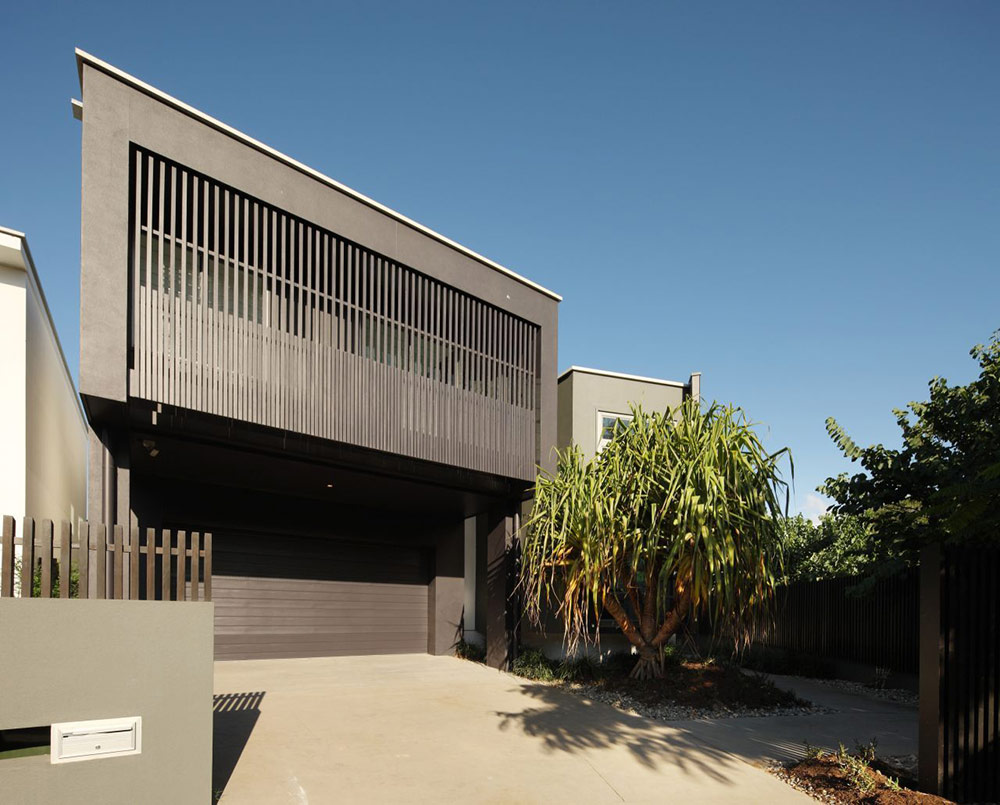Entrance, Park House, Queensland, Australia by Shaun Lockyer Architects