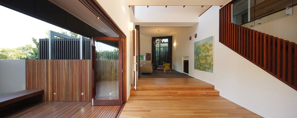 Hall, Park House, Queensland, Australia by Shaun Lockyer Architects