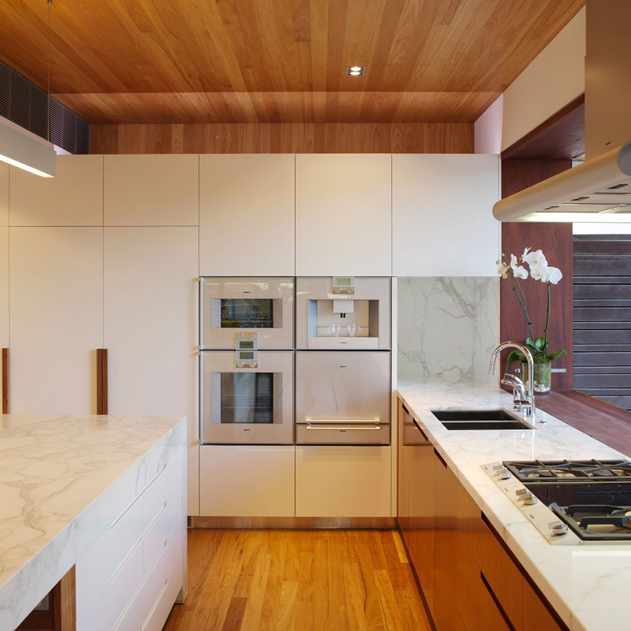 Kitchen, Park House, Queensland, Australia by Shaun Lockyer Architects