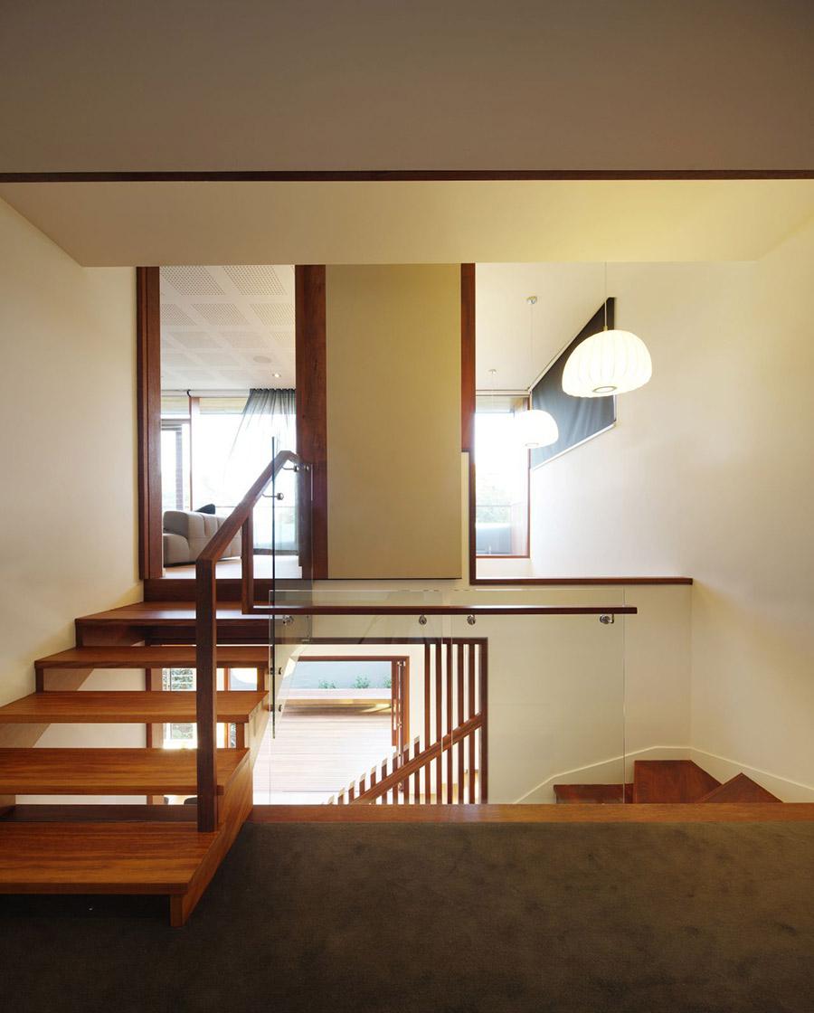 Landing, Park House, Queensland, Australia by Shaun Lockyer Architects