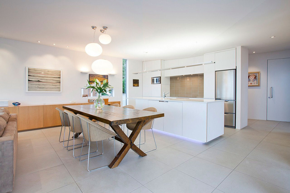 Kitchen, Dining Space, Redcliffs House, Christchurch, New Zealand by MAP Architects