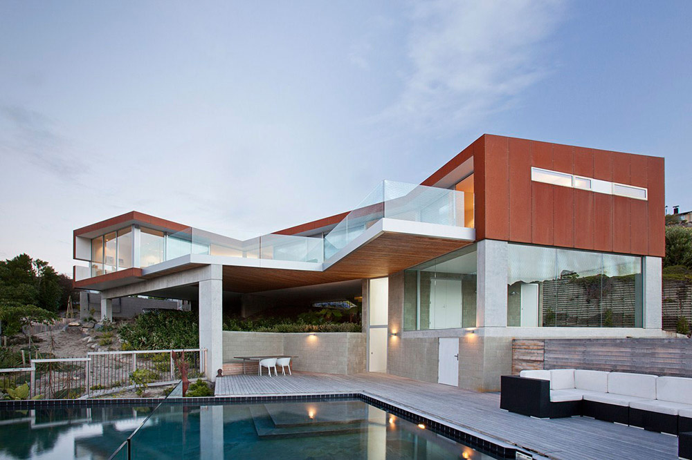 Redcliffs House, Christchurch, New Zealand by MAP Architects