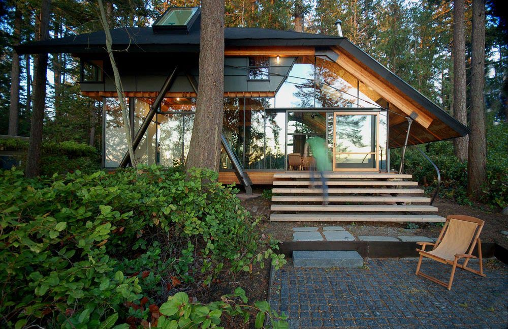 Sneeoosh Cabin, Washington by Zeroplus Architects