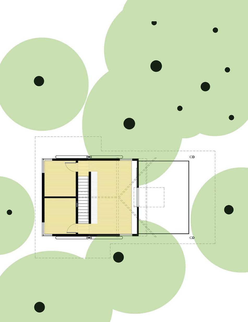 Plan, Sneeoosh Cabin, Washington by Zeroplus Architects