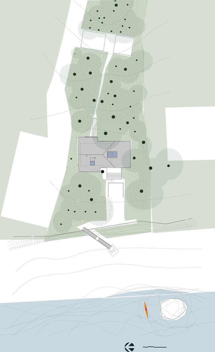 Site, Sneeoosh Cabin, Washington by Zeroplus Architects
