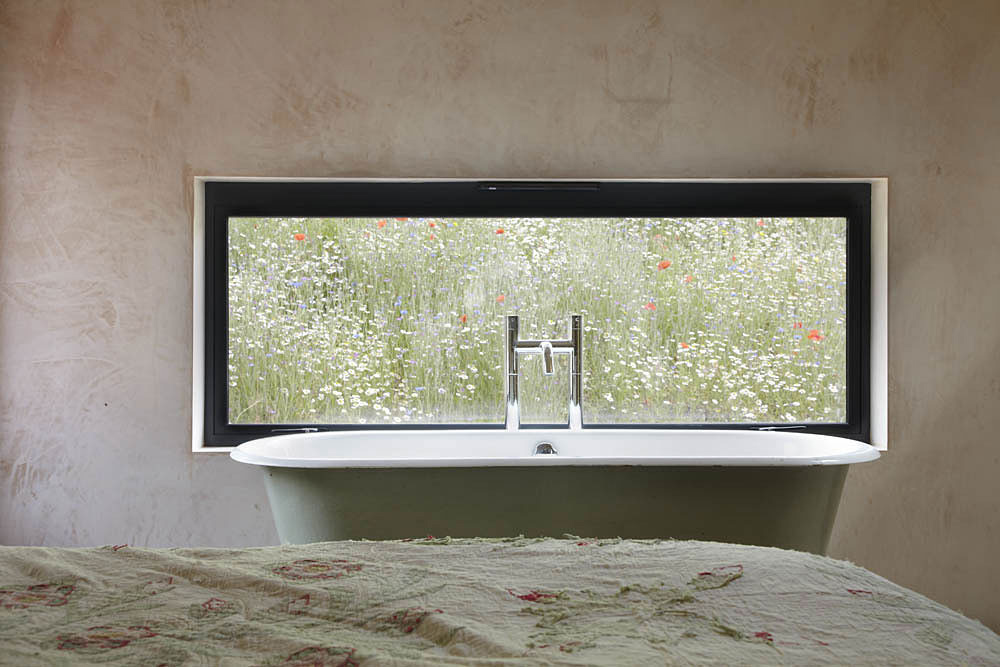 Bathroom, Starfall Farm, Somerset, England by Invisible Studio
