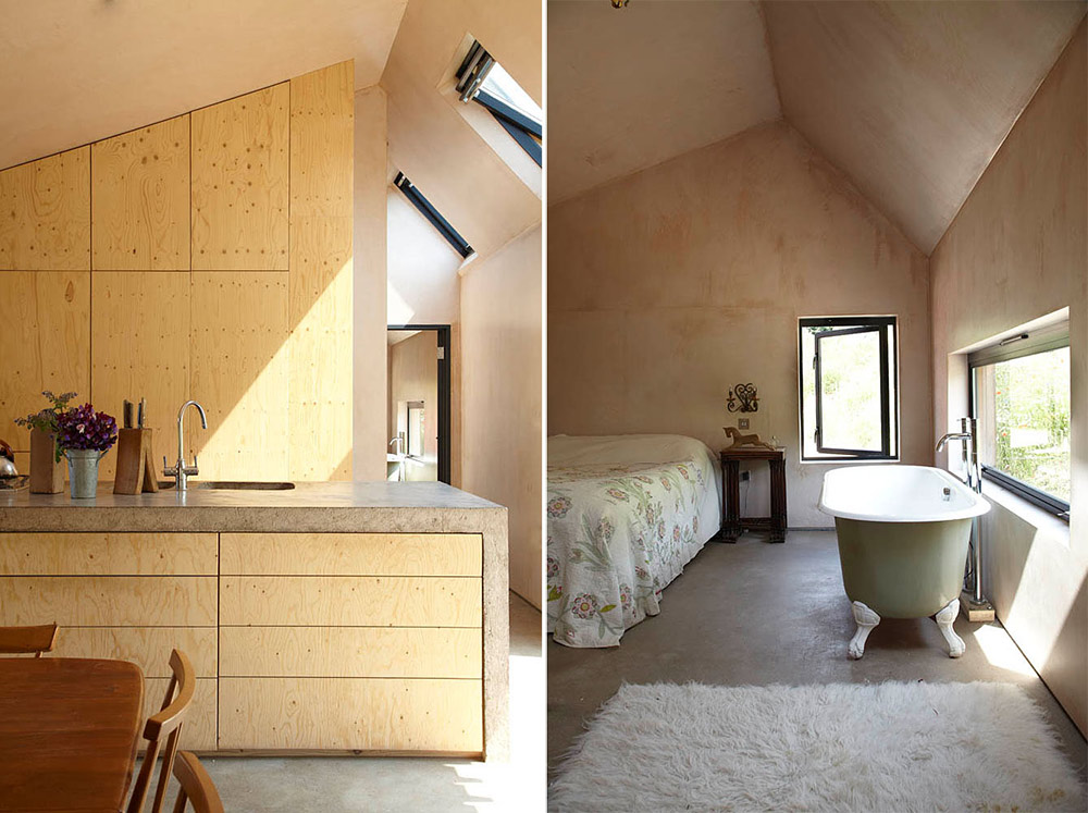 Kitchen, Bathroom, Starfall Farm, Somerset, England by Invisible Studio