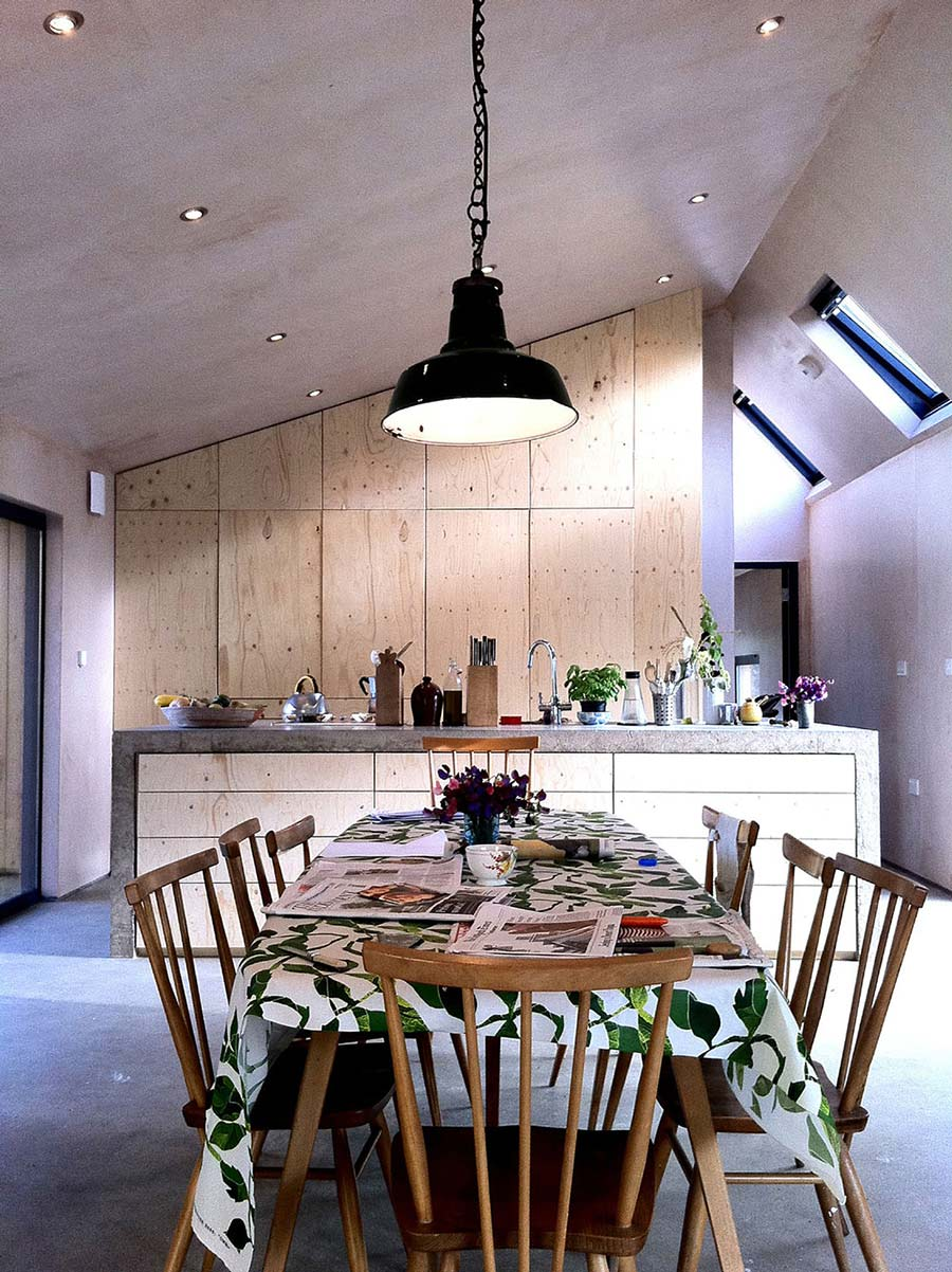 Dining & Kitchen, Starfall Farm, Somerset, England by Invisible Studio