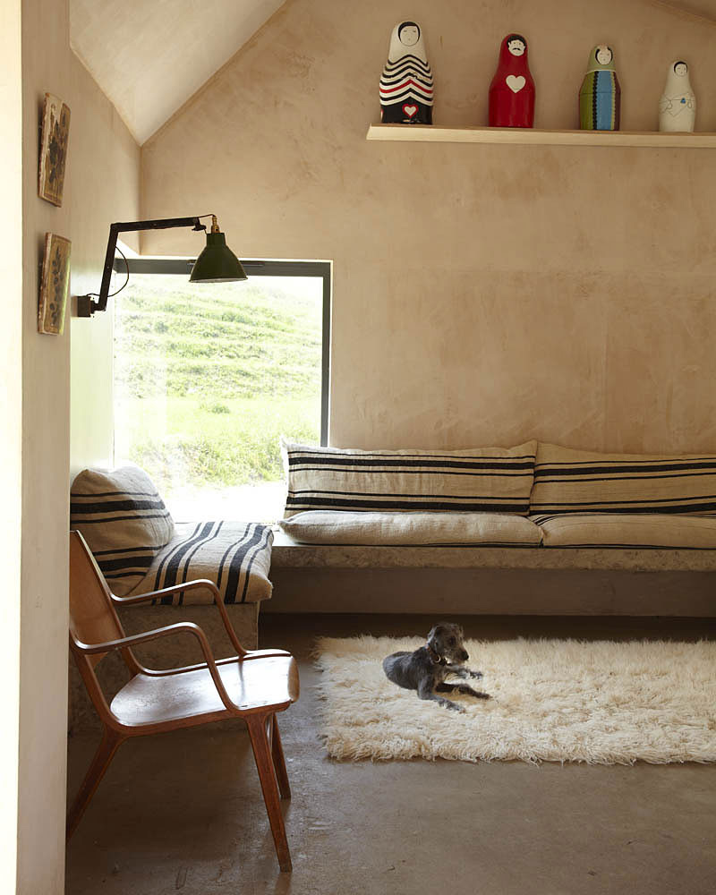Living Space, Starfall Farm, Somerset, England by Invisible Studio