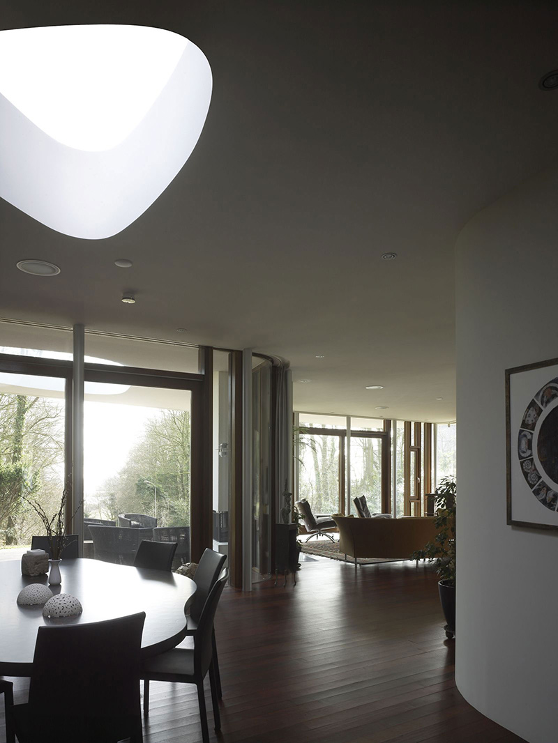 Open Plan, Dining Space, Villa Nefkens, Netherlands by Mecanoo Architects