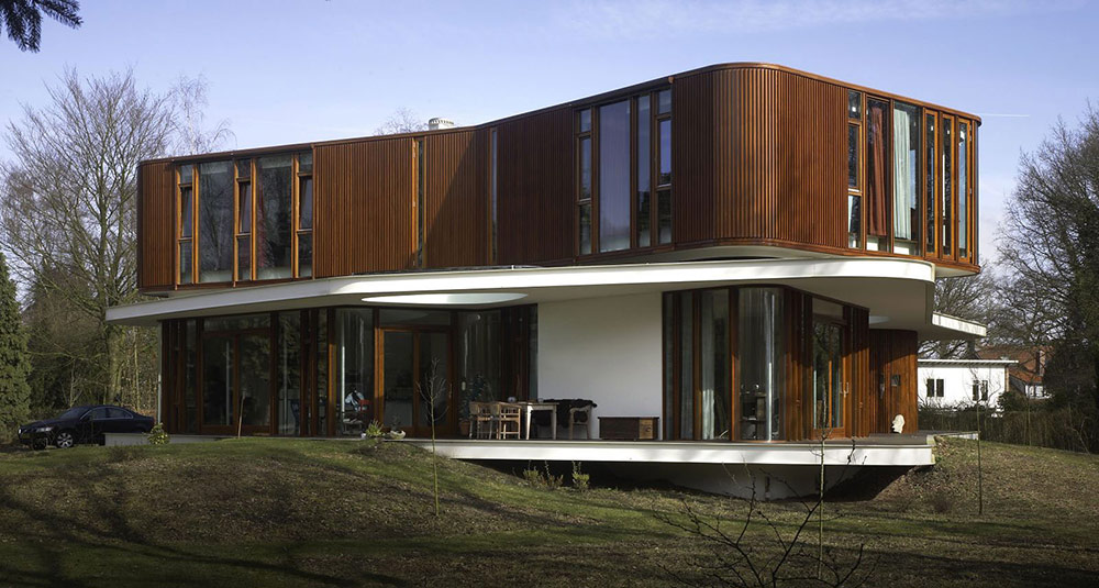 Villa Nefkens, Netherlands by Mecanoo Architects