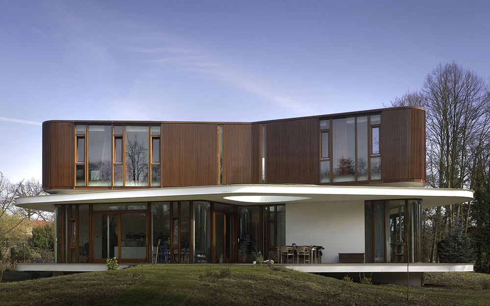 Villa Nefkens, Netherlands by Mecanoo Architects
