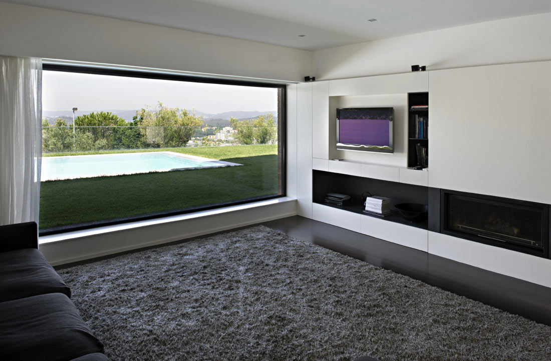 Living Room, Rug, CS House Portugal by Pitagoras Arquitectos