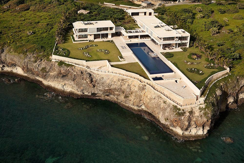 Arial View, Casa Kimball, Dominican Republic by Rangr Studio