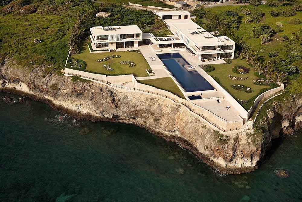 Arial View, Casa Kimball, Dominican Republic by Rangr Studio
