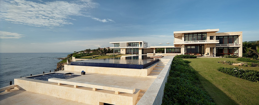 Jacuzzi, Pool & Terrace, Casa Kimball, Dominican Republic by Rangr Studio