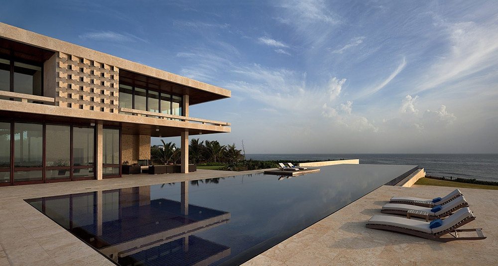 Pool, Terrace, Sea Views, Casa Kimball, Dominican Republic by Rangr Studio