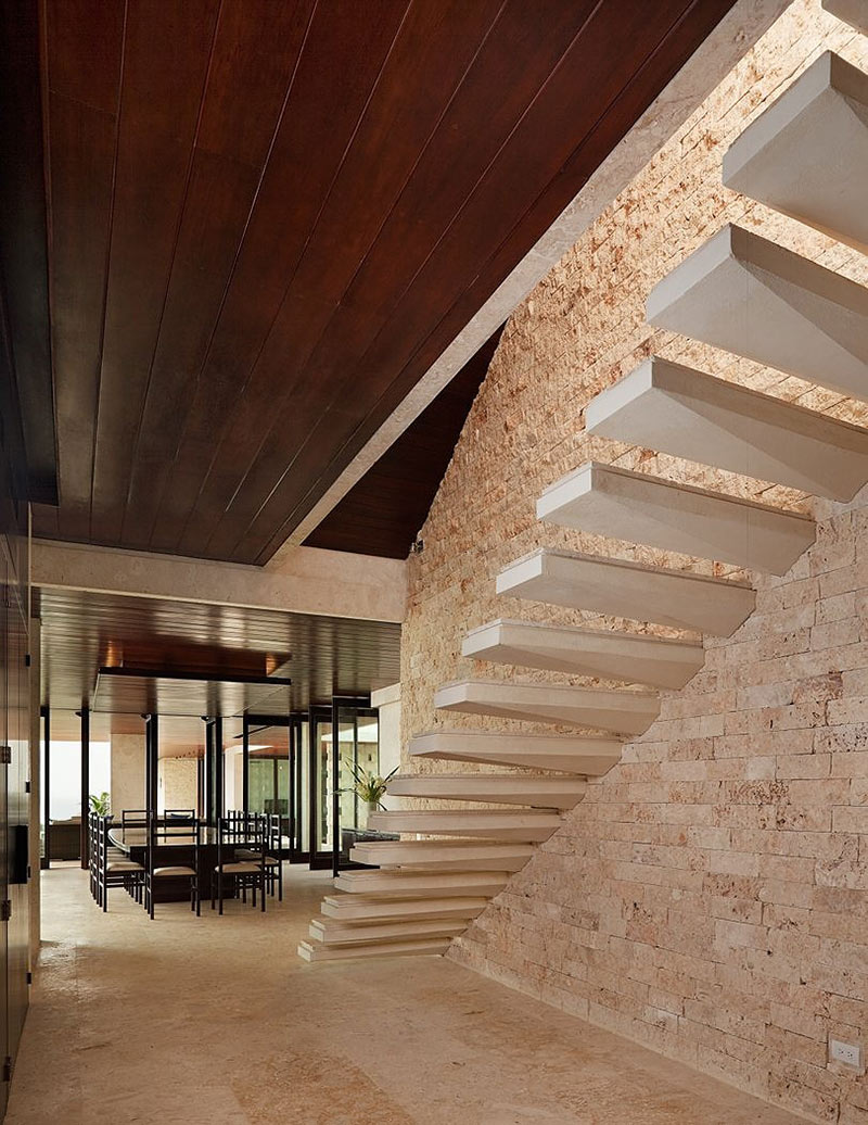 Stairs, Casa Kimball, Dominican Republic by Rangr Studio