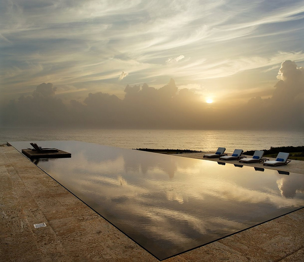 Terrace, Pool, Sunset, Casa Kimball, Dominican Republic by Rangr Studio