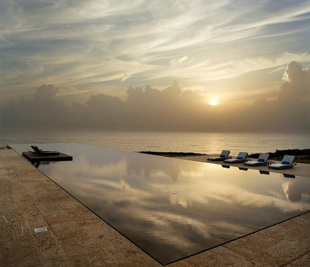Terrace, Pool, Sunset, Casa Kimball, Dominican Republic by Rangr Studio