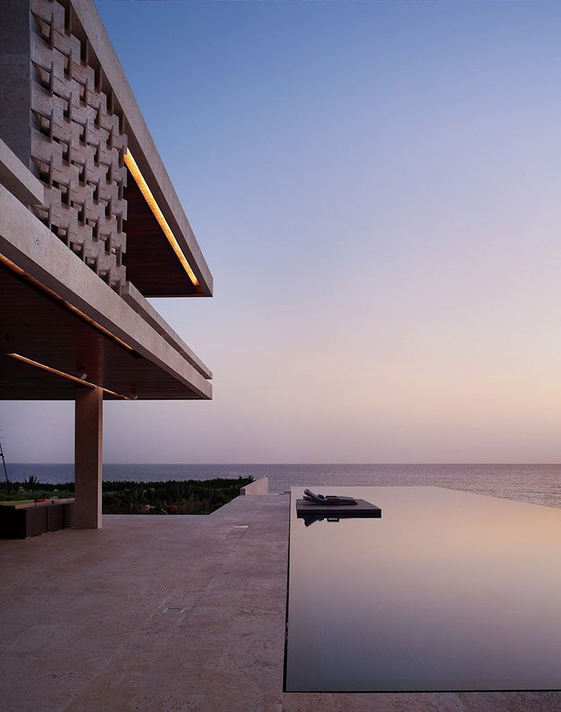 Terrace, Swimming Pool, Casa Kimball, Dominican Republic by Rangr Studio