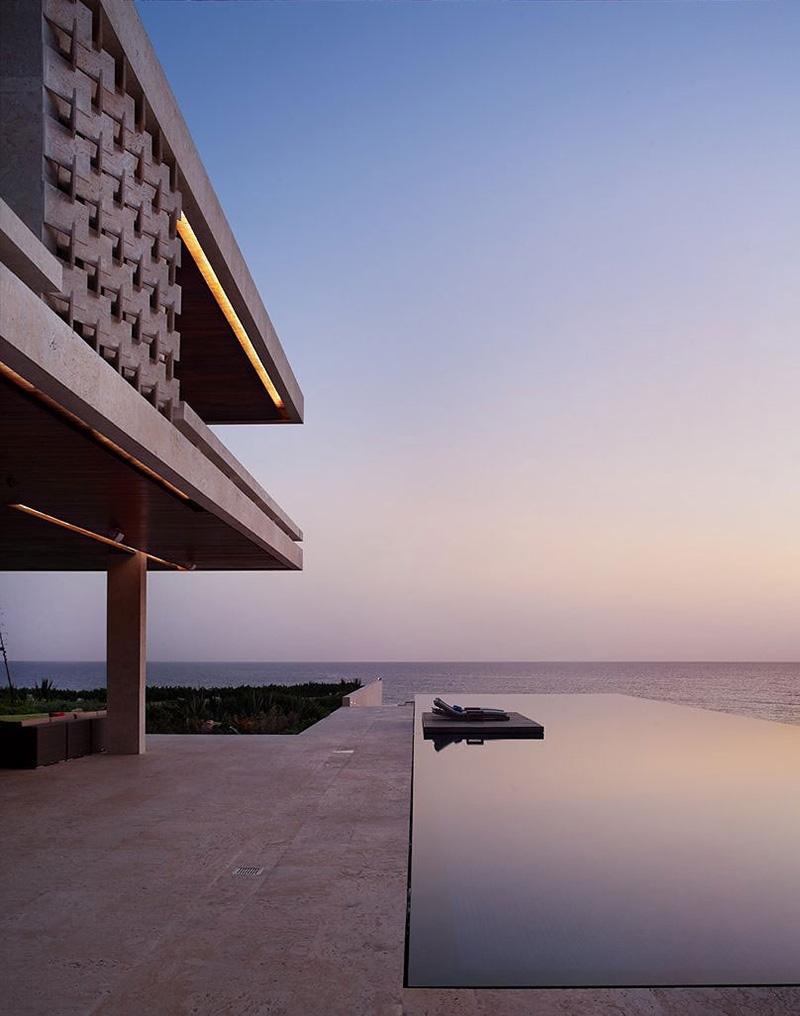 Terrace, Swimming Pool, Casa Kimball, Dominican Republic by Rangr Studio