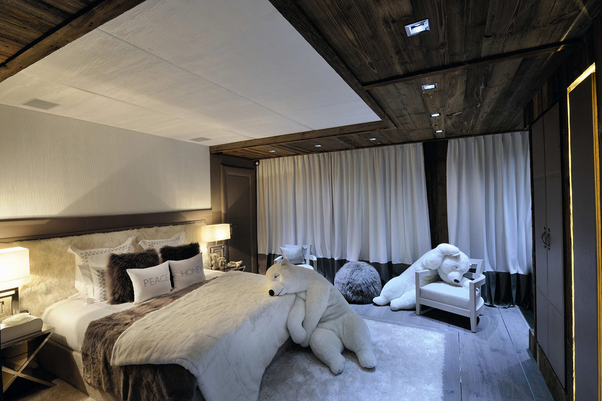 Bedroom, Polar Bears, Chalet Brikell, Rhone-Alpes by Pure Concept