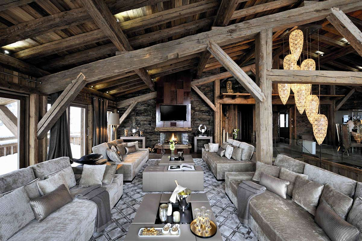 Living Space, Chalet Brikell, Rhone-Alpes by Pure Concept