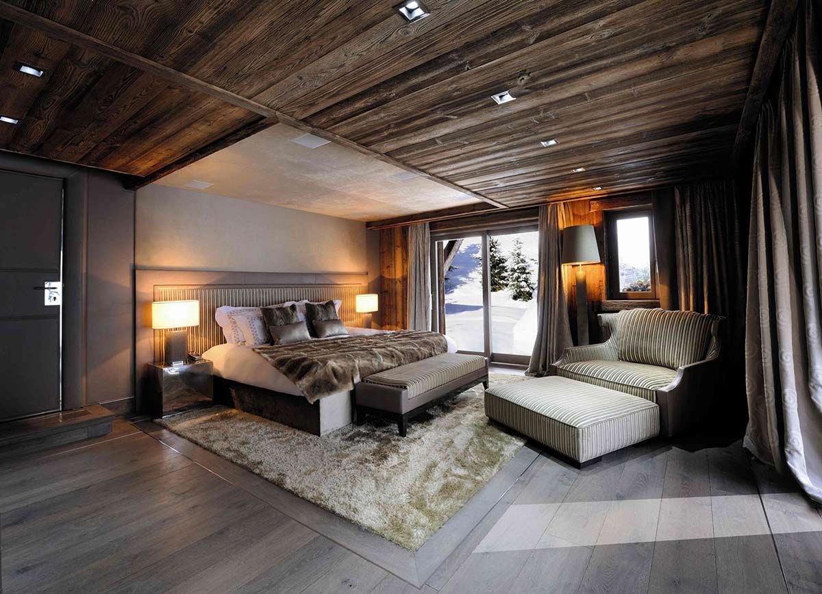 Bedroom, Chalet Brikell, Rhone-Alpes by Pure Concept