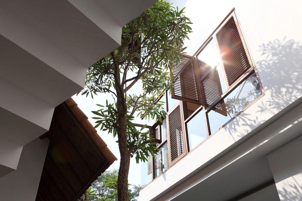 Glass Walls, Distort House, Jakarta by TWS & Partners
