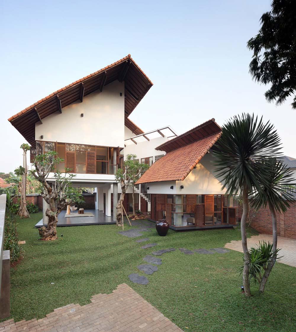 Garde, Distort House, Jakarta by TWS & Partners