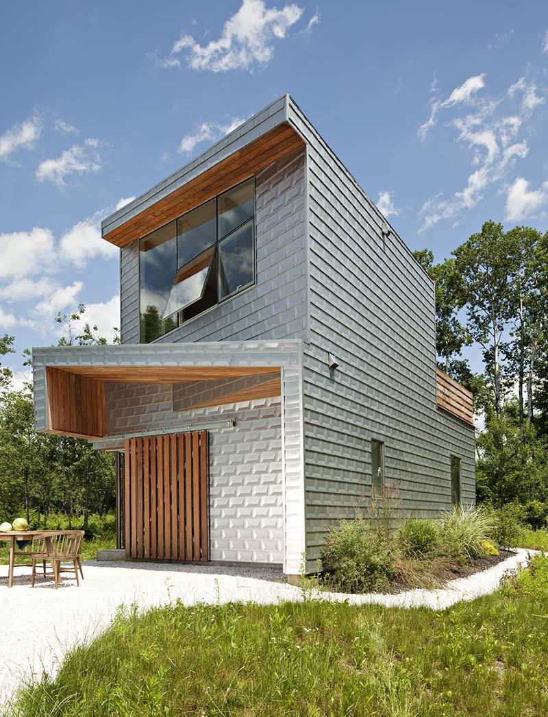 Aluminium Clad Dutchess House No. 1, New York by Grzywinski+Pons