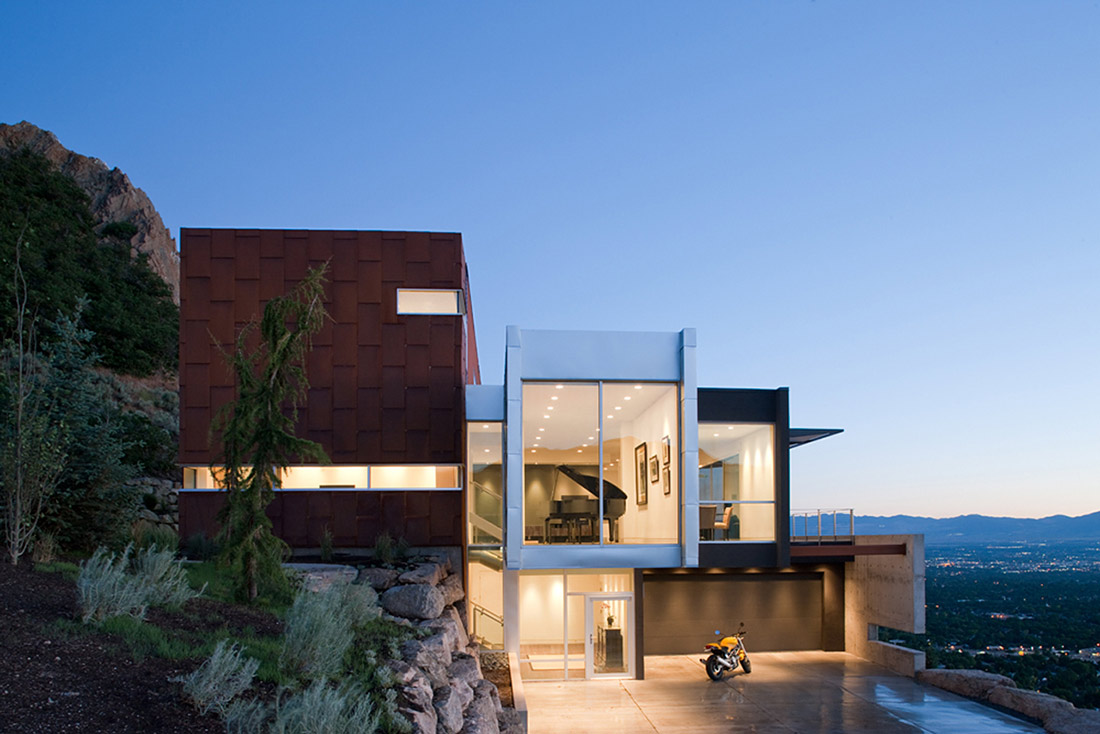 H-House, Salt Lake City by Axis Architects