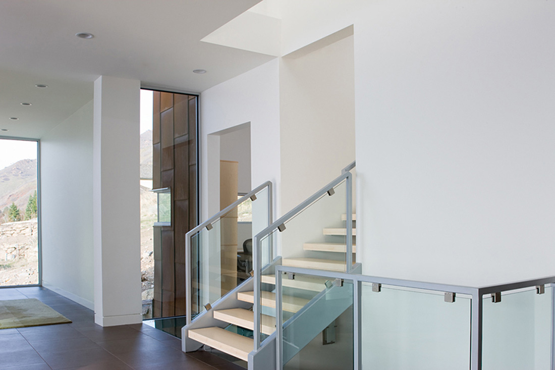 Stairs, H-House, Salt Lake City by Axis Architects