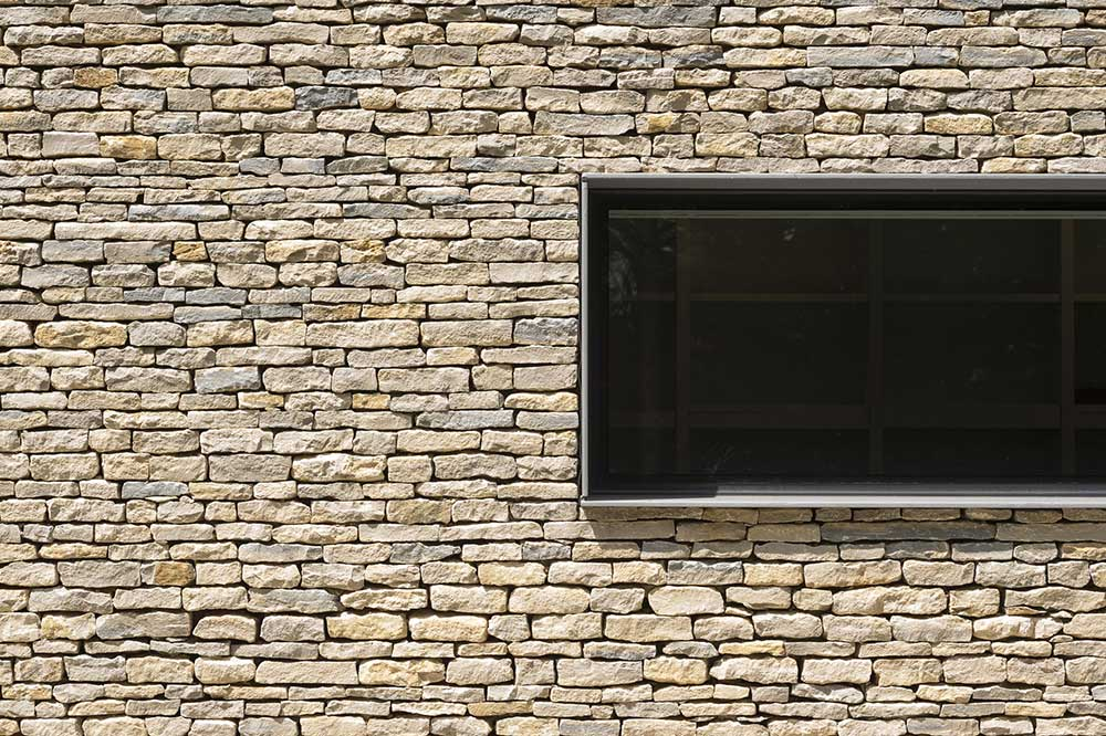 Wall Detail, Hurst House, Buckinghamshire by John Pardey Architects + Strom Architects