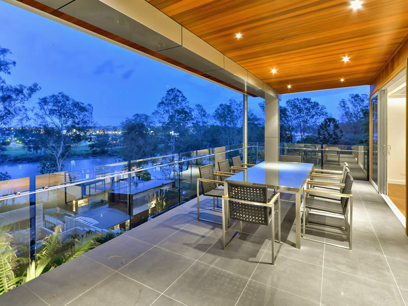 Outdoor Dining, Terrace, Luxury Home on Brisbane River