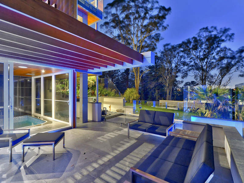 Outdoor Living, Terrace, Luxury Home on Brisbane River