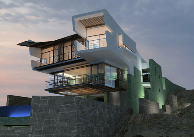 Lefevre House, Peru by Longhi Architects