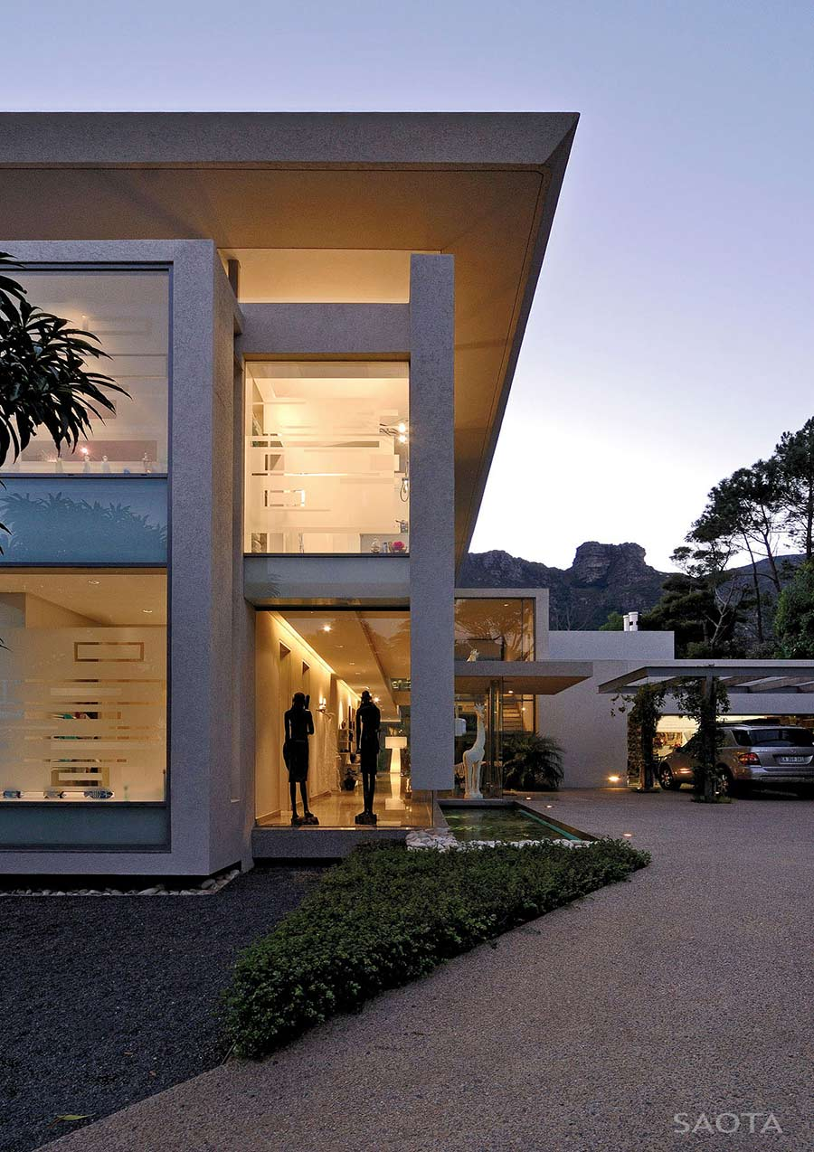 Car Port, Garage, Montrose House, Cape Town by SAOTA