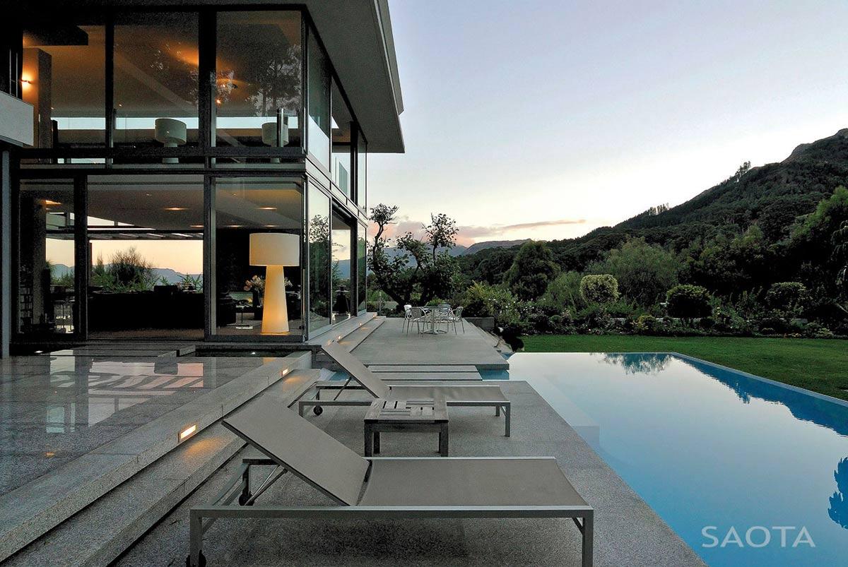 Terrace, Pool, Montrose House, Cape Town by SAOTA