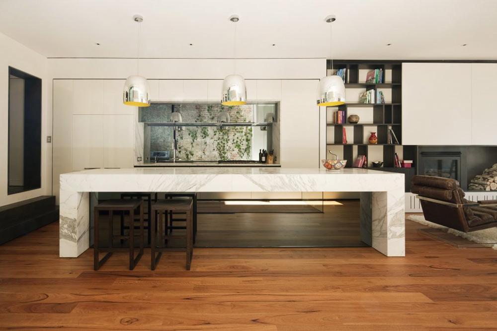 Breakfast Table, Nicholson Residence by Matt Gibson Architecture + Design