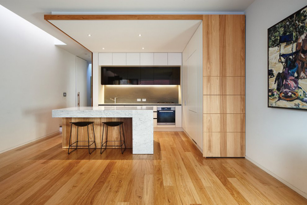 Kitchen, Nicholson Residence by Matt Gibson Architecture + Design
