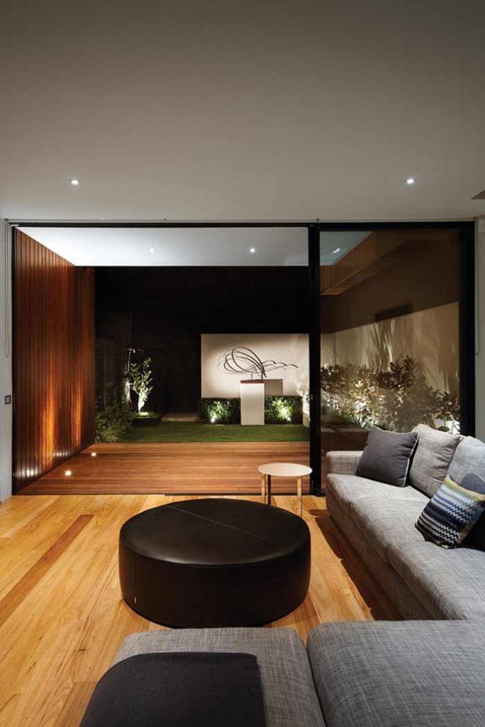 Living Space, Deck, Nicholson Residence by Matt Gibson Architecture + Design