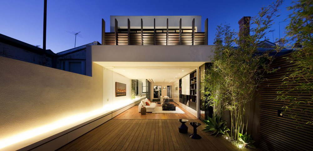 Terrace, Living Space, Nicholson Residence by Matt Gibson Architecture + Design