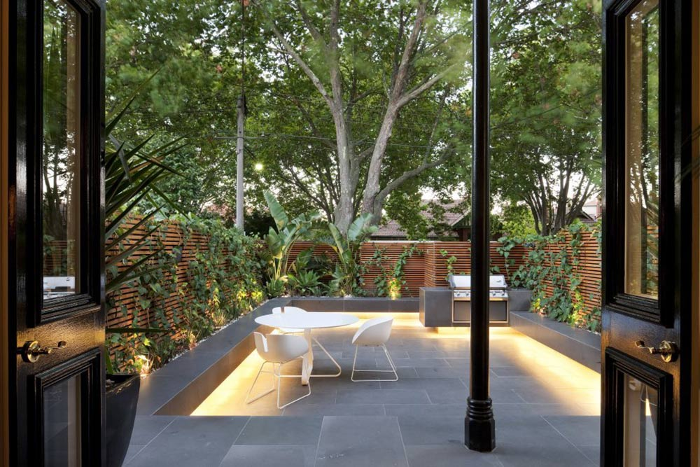 Terrace, Outdoor Living, Nicholson Residence by Matt Gibson Architecture + Design