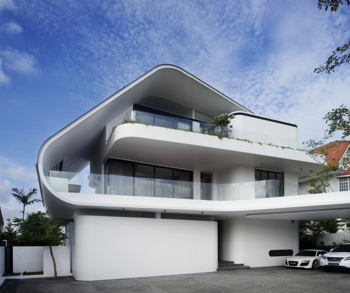 Ninety7 @ Siglap Road House by Aamer Architects